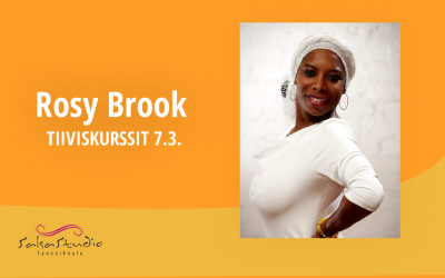 Ladies Style 1+2 ja Salsa Timba Rosy Brookin kanssa – tiiviskurssit 7.3. klo 13-16