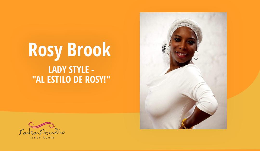 Rosy Brookin kesäinen Salsa Ladies Style -tiivarisarja perjantaisin