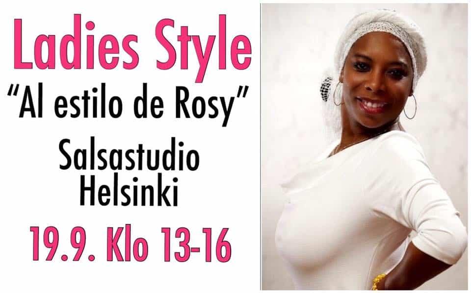 """19.9. Ladies Style tiiviskurssi """"Al estilo de Rosy"""""""