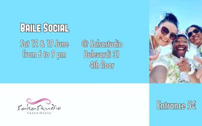 Baile Social 19.6. 18-21
